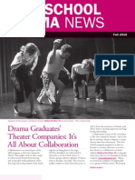 The New School for Drama / Alumni Newsletter Fall 2010