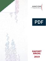 Ancom Raport Anual 2019