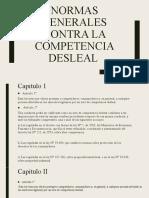 Normas generales contra la competencia desleal (derecho).pptx