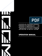 Zoom Valve Dsp Manual