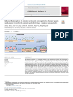 Enhanced adsorption of anionic surfactants on negatively charged quartz sand grains treated with cationic polyelectrolyte complex nanoparticles