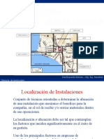 6 Localización de Instalaciones