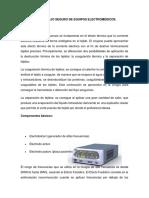 CLASE 5-MANEJO SEGURO DE EQUIPOS ELECTROMÉDICOS.