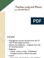 Larynx, Trachea, Lung and Pleura