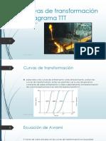 Laboratorio 7 - Curvas de transformación y diagrama TTT
