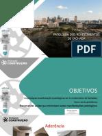 Patologias na construção - revestimentos de fachada