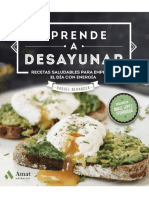 Aprende a desayunar. Recetas saludables para empezar el día con energía.pdf