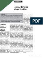 CAUME, David J.. Segurança Alimentar, Reforma Agrária e Agricultura Familiar (2003)