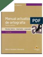 [Lenguaje] Manual Actualizado de Ortografía
