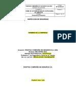 Plantilla - Informe Inspeccion de seguridad