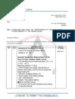 Cot. Metalizaciones Termometro No Contacto Abril 2020