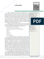 citation of ayurvedic articles