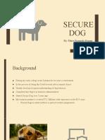 secure dog