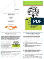 Peer led information sheet