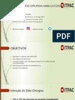 INFECÇÃO EM CIRURGIA AMBULATORIAL