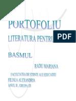 Portofoliu Literatura Pentru Copii