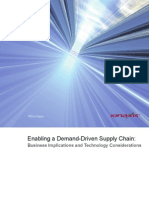 Enabling a Demand-Driven Supply Chain