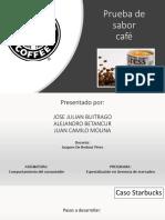 Prueba de sabor café express starbucks Marzo 1