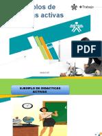 ejemplos didacticas activas