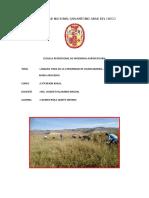Analisis FODA de La Comunidad de Huancabamba