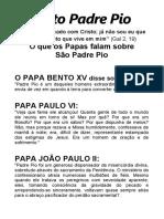 DEVOCIONÁRIO NOVO DE SANTO PADRE PIO