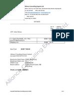 Invoice iPad 2010