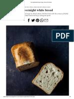 Overnight white bread recipe _ House & Garden