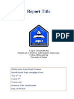 Final Report ( Ragir Saeed Sulaiman ) - Human Rights  .docx