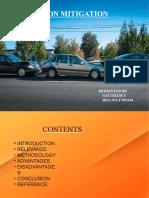 collision mittigation system ppt