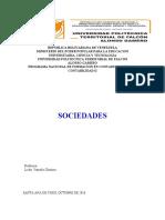 las sociedades contabilidad