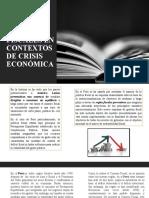 Evolución de Reglas ficales durante crisis económica