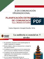 Maestría en Comunicación Organizacional p3. Fases y de Modelos de Auditoría