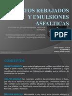 ASFALTOS REBAJADOS Y EMULSIONES ASFALTICAS Presentacion (1)
