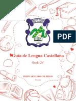 Guía de Lengua Castellana palabras 1