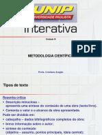 Metodologia Científica Unidade III.pdf