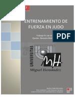 ENTRENAMIENTO DE FUERZA EN JUDO TFG Mira Antón, Pablo