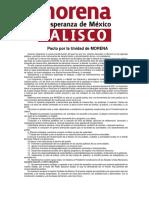 Pacto Unidad Morena Jalisco