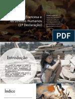 Revolução Francesa e a Primeira Declaração Dos Direitos Do Homem