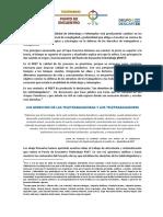 Los Derechos de Teletrabajadoras y Teletrabajadores