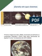 GEO - A-ESTRUTURA DA TERRA 1  PowerPoint