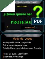 Quien Quiere Ser Profesor 1
