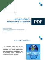 Recurso Hidrico y ahorro de agua 2018 (1)