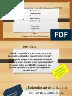 paralelo de la ortografia y normas gtc