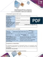 Guía de actividades y rúbrica de evaluación - Fase 1 - Contextualizando la Evaluación