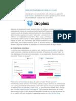 Posibilidades de Dropbox Para Trabajo en El Aula