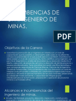 INCUMBENCIAS DE UN INGENIERO DE MINAS.pdf