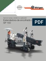 Extendedora de concreto SP-150
