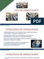 ESTRATEGIA DE OPERACIONES