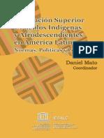 Educacion Superior y Pueblos Indigenas y Afrodescendientes en America Latina