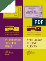 CICLO CINE ALEMÁN - 2020